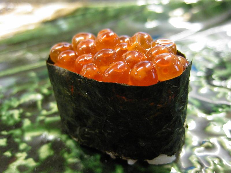Ikura for Fish eggs on sushi